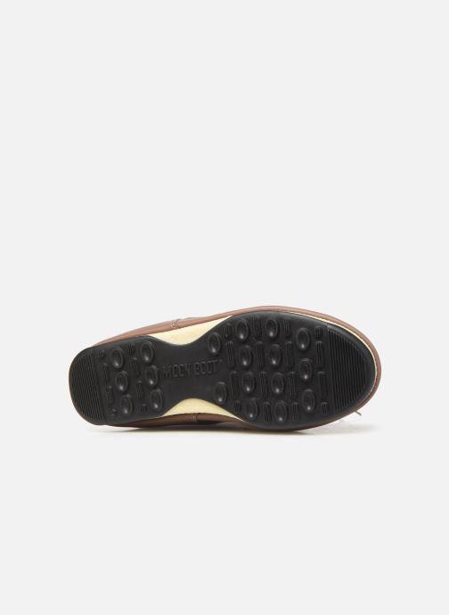 Zapatillas de deporte Moon Boot Moon Boot Monaco Wool WP Marrón vista de arriba