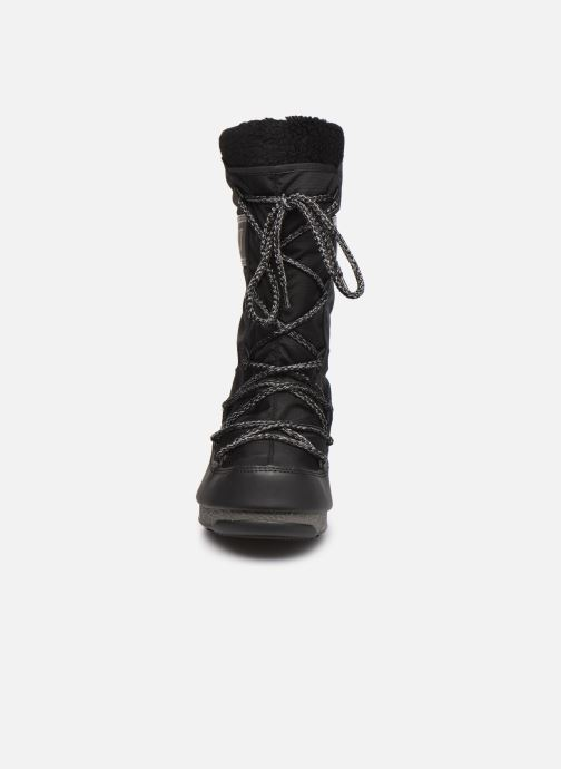 Chaussures de sport Moon Boot Moon Boot Monaco Wool WP Noir vue portées chaussures