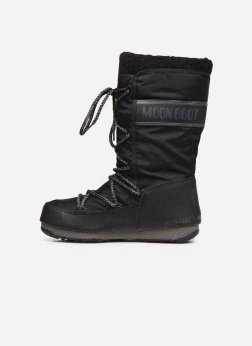 Chaussures de sport Moon Boot Moon Boot Monaco Wool WP Noir vue face