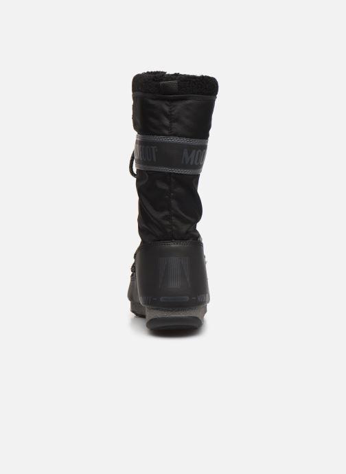 Chaussures de sport Moon Boot Moon Boot Monaco Wool WP Noir vue droite