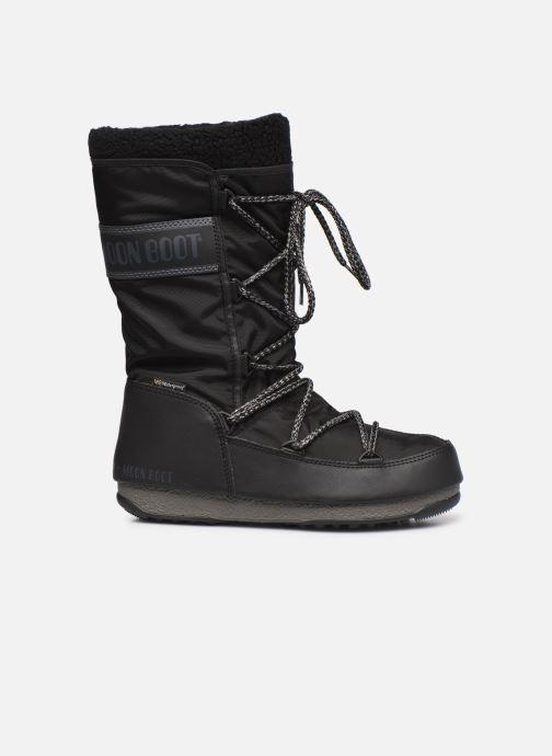 Chaussures de sport Moon Boot Moon Boot Monaco Wool WP Noir vue derrière