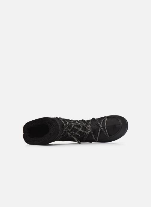 Chaussures de sport Moon Boot Moon Boot Monaco Wool WP Noir vue gauche