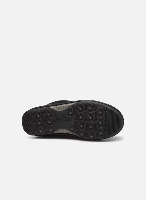 Chaussures de sport Moon Boot Moon Boot Monaco Wool WP Noir vue haut
