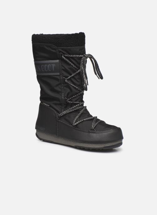 Zapatillas de deporte Moon Boot Moon Boot Monaco Wool WP Negro vista de detalle / par