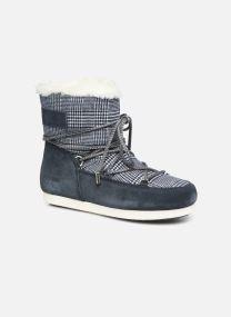 Moon Boot Far Side Low Fur/Tartan