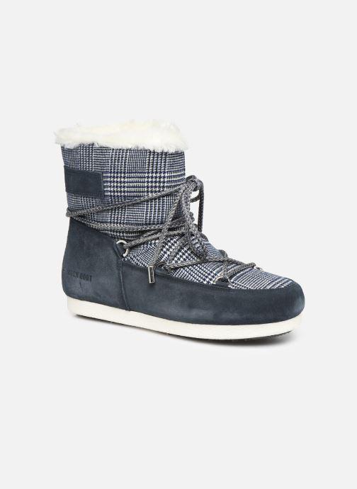 Scarpe sportive Moon Boot Moon Boot Far Side Low Fur/Tartan Azzurro vedi dettaglio/paio