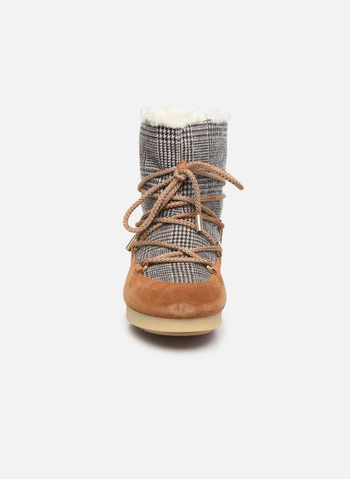 Sport shoes Moon Boot Moon Boot Far Side Low Fur/Tartan Brown model view