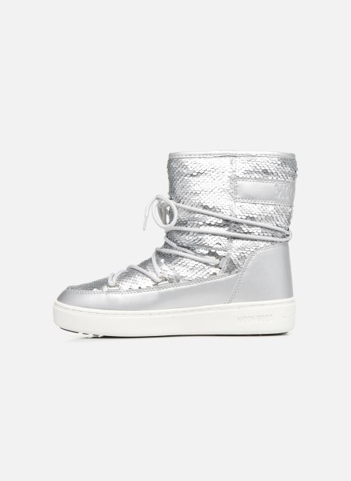 Sport shoes Moon Boot Moon Boot Pulse Mid Disco Plus Silver front view