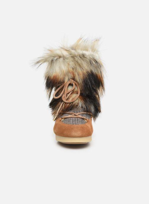 Sport shoes Moon Boot Moon Boot Far Side High Faux Fox Fur Brown model view