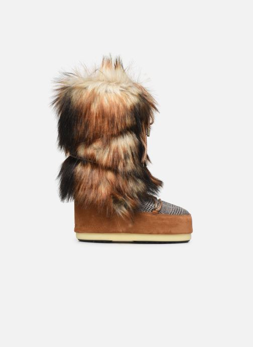 Sport shoes Moon Boot Moont Boot Classic Faux Fox/Tartan Brown back view