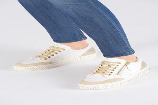 Sneakers Geox D LEELU' Zwart onder