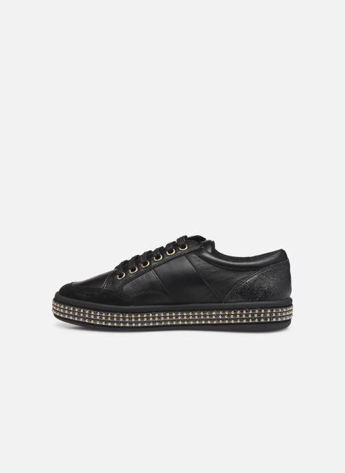 Sneakers Geox D LEELU' Zwart voorkant
