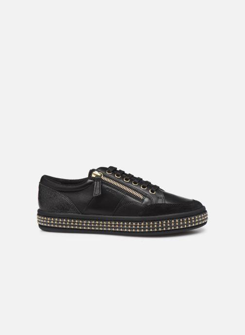 Sneakers Geox D LEELU' Zwart achterkant