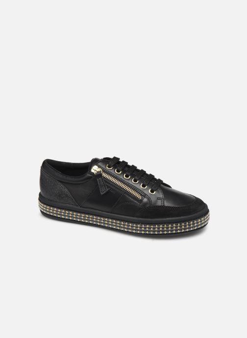 Sneakers Geox D LEELU' Zwart detail