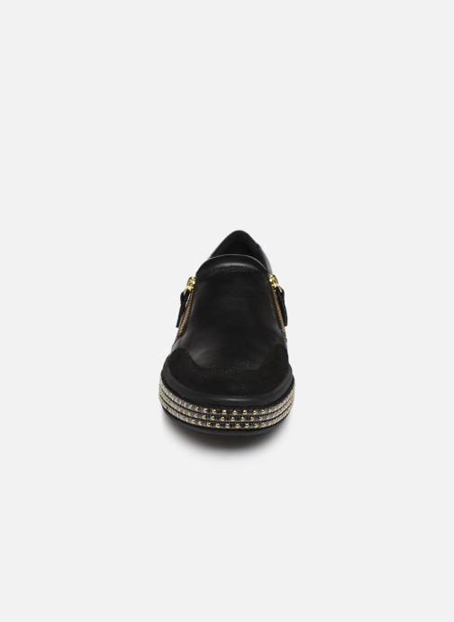 Baskets Geox D LEELU' 2 Noir vue portées chaussures
