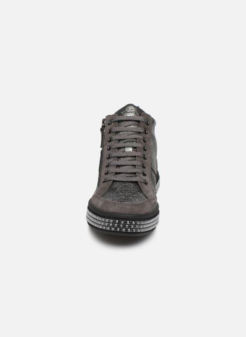 Baskets Geox D LEELU' 2 Argent vue portées chaussures