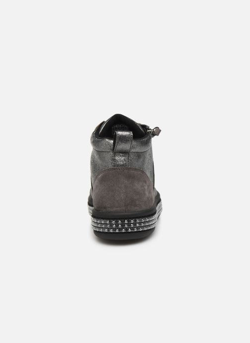 Sneakers Geox D LEELU' 2 Sølv Se fra højre