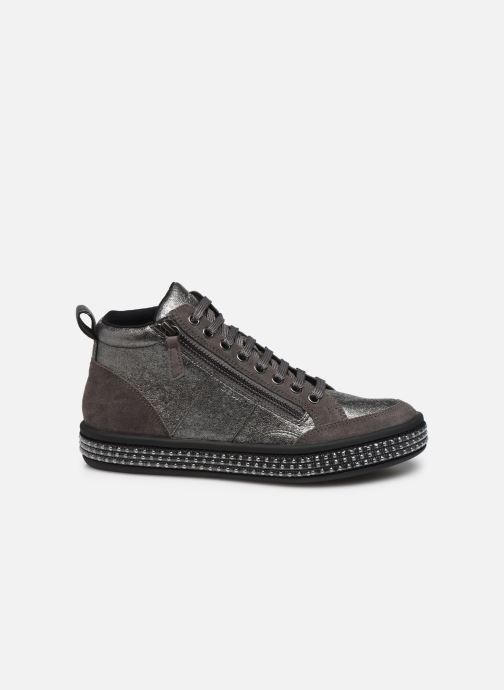 Sneakers Geox D LEELU' 2 Sølv se bagfra