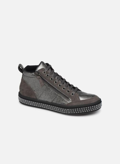 Sneakers Geox D LEELU' 2 Sølv detaljeret billede af skoene