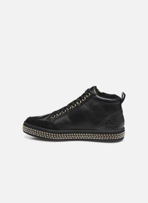 Sneaker Geox D LEELU'3 schwarz ansicht von vorne