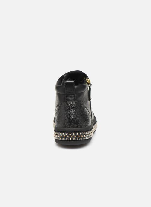 Sneaker Geox D LEELU'3 schwarz ansicht von rechts