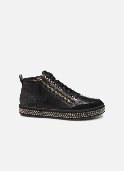 Sneaker Geox D LEELU'3 schwarz ansicht von hinten