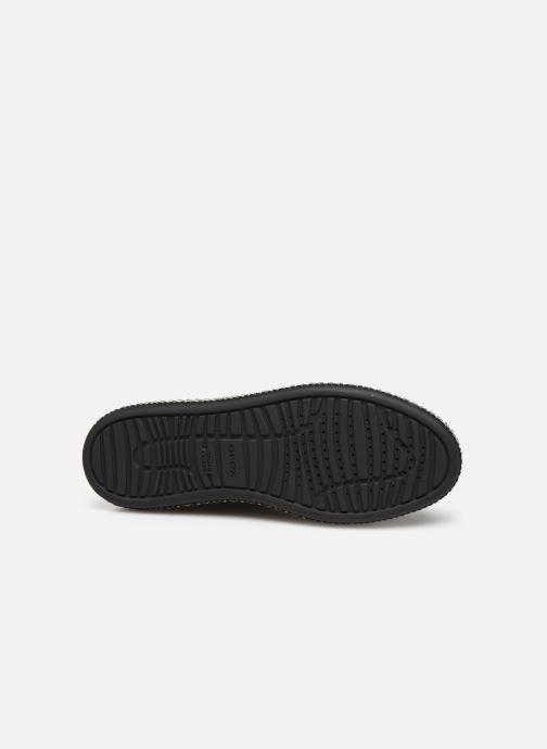 Sneaker Geox D LEELU'3 schwarz ansicht von oben