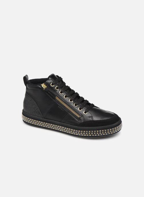 Sneaker Geox D LEELU'3 schwarz detaillierte ansicht/modell