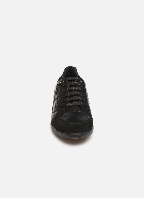 Baskets Geox D MYRIA Noir vue portées chaussures