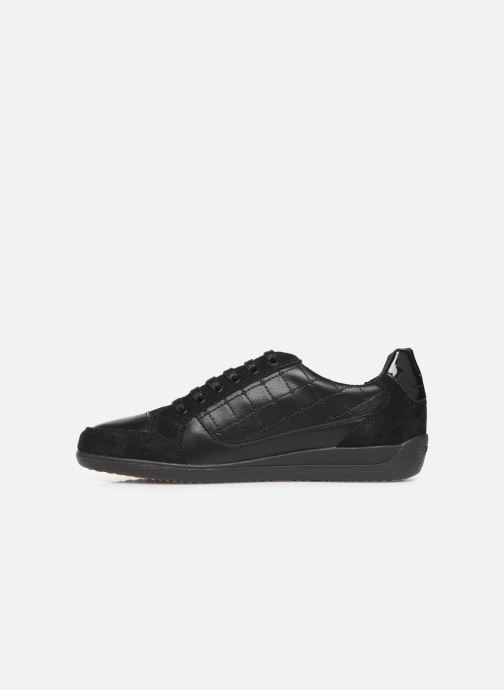 Trainers Geox D MYRIA Black front view