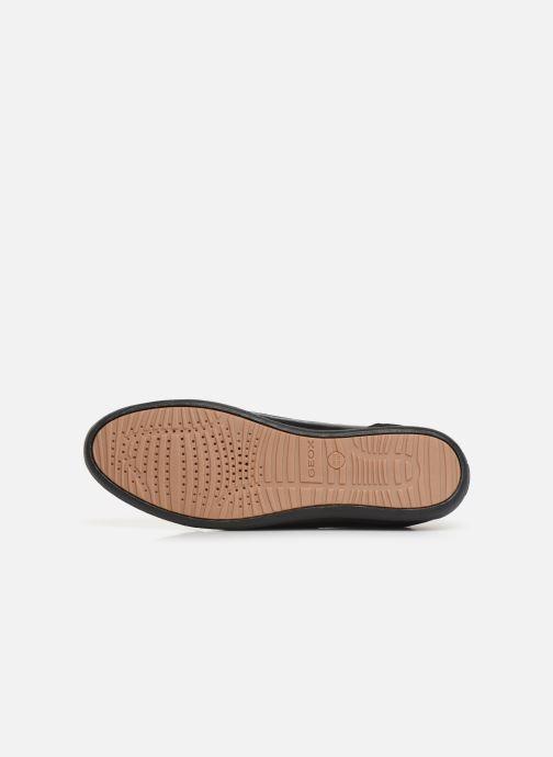 Baskets Geox D MYRIA Noir vue haut