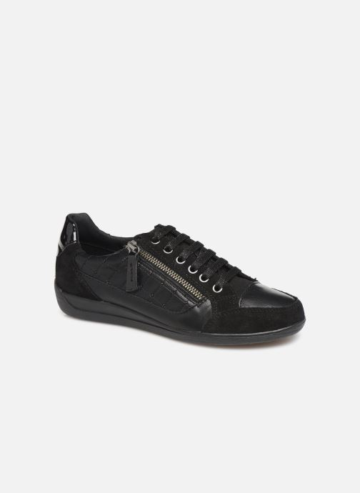 Trainers Geox D MYRIA Black detailed view/ Pair view
