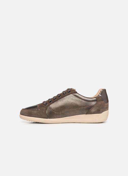 Sneakers Geox D MYRIA Bruin voorkant