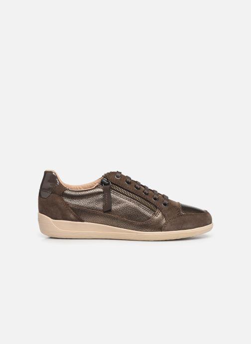 Sneakers Geox D MYRIA Bruin achterkant