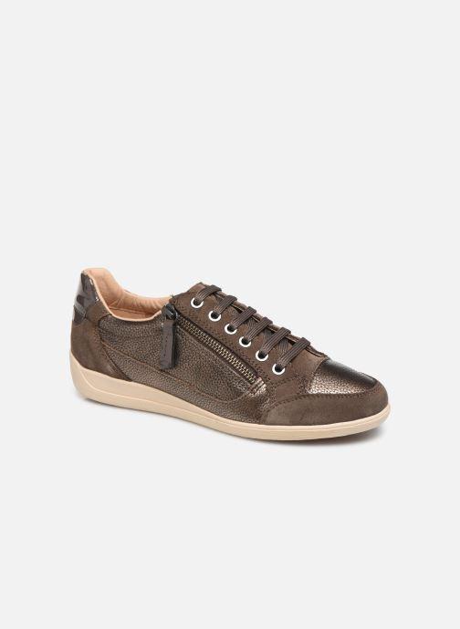 Sneakers Geox D MYRIA Bruin detail