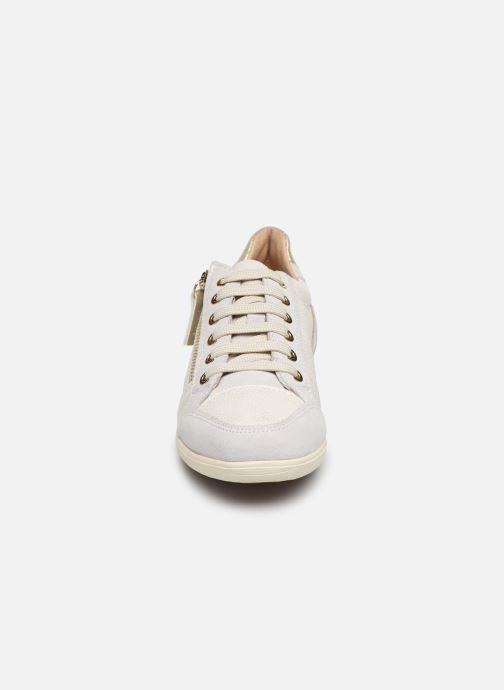 Baskets Geox D MYRIA Blanc vue portées chaussures