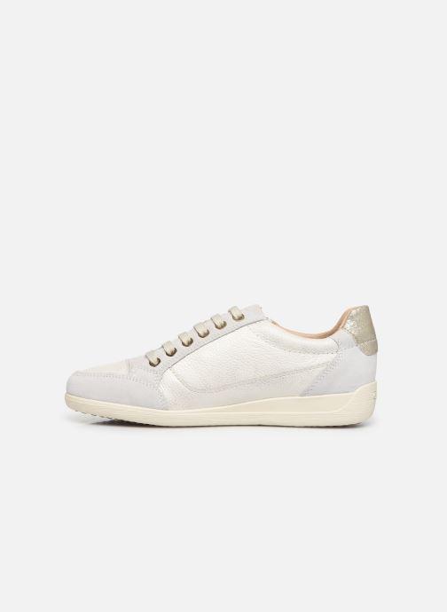 Sneakers Geox D MYRIA Wit voorkant