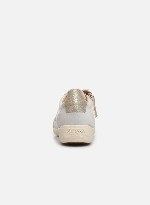 Sneakers Geox D MYRIA Wit rechts