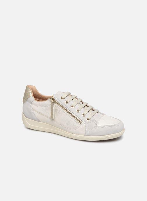 Sneakers Geox D MYRIA Wit detail