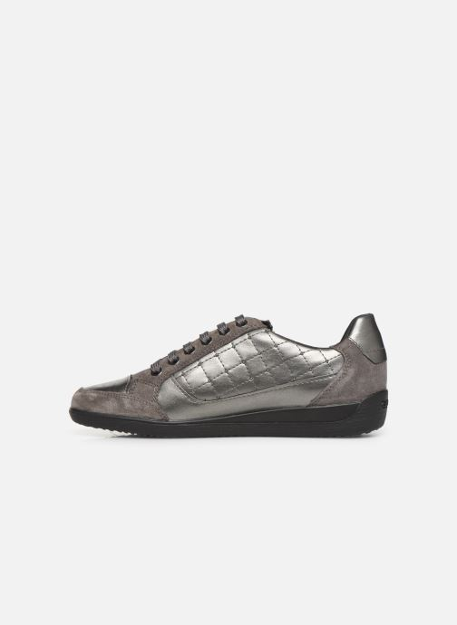 Trainers Geox D MYRIA Grey front view