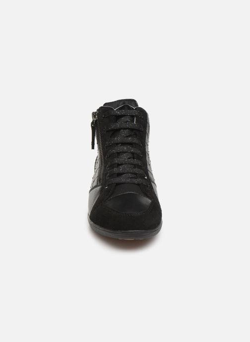 Baskets Geox D MYRIA  2 Noir vue portées chaussures