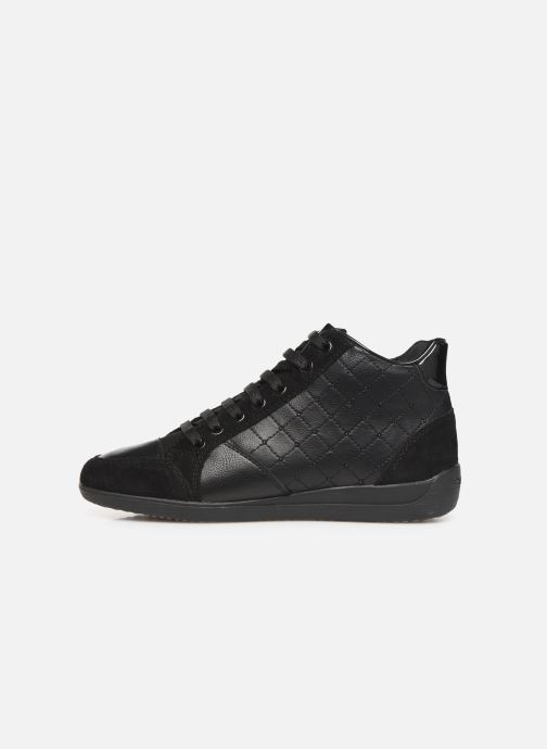 Trainers Geox D MYRIA  2 Black front view