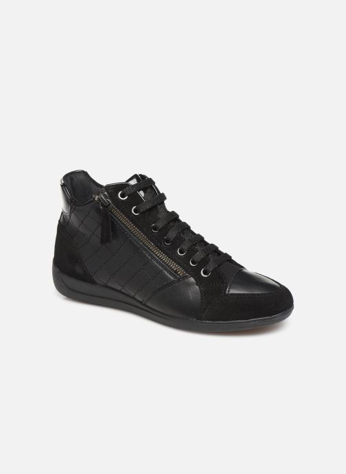 Trainers Geox D MYRIA  2 Black detailed view/ Pair view