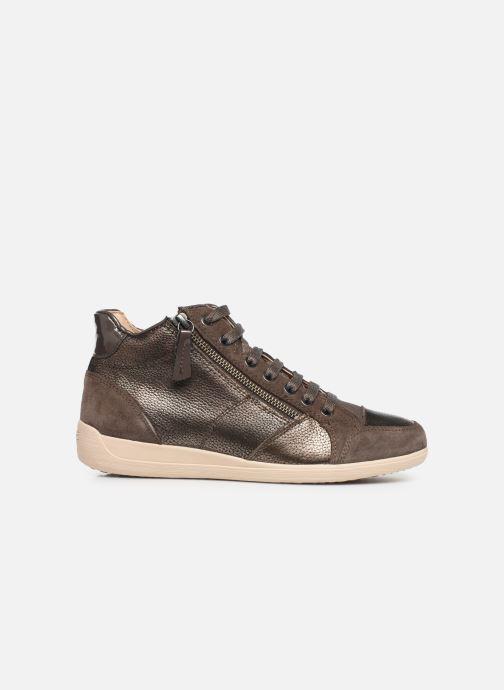 Sneakers Geox D MYRIA  2 Bruin achterkant
