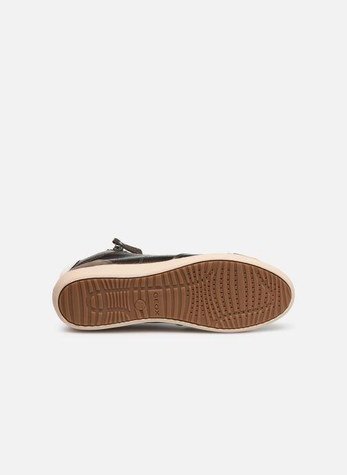 Sneakers Geox D MYRIA  2 Bruin boven