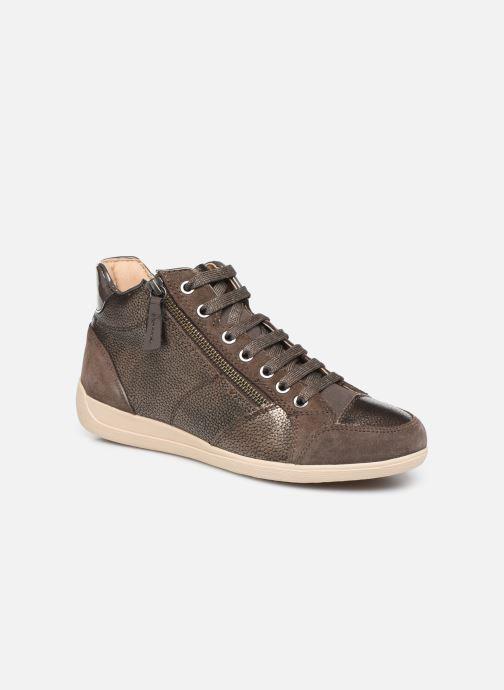 Sneakers Geox D MYRIA  2 Bruin detail