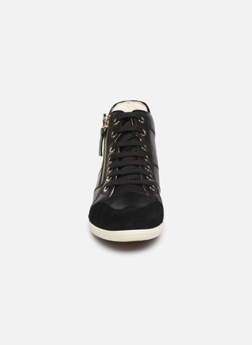 Baskets Geox D MYRIA 3 Noir vue portées chaussures