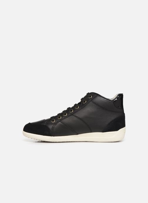 Trainers Geox D MYRIA 3 Black front view