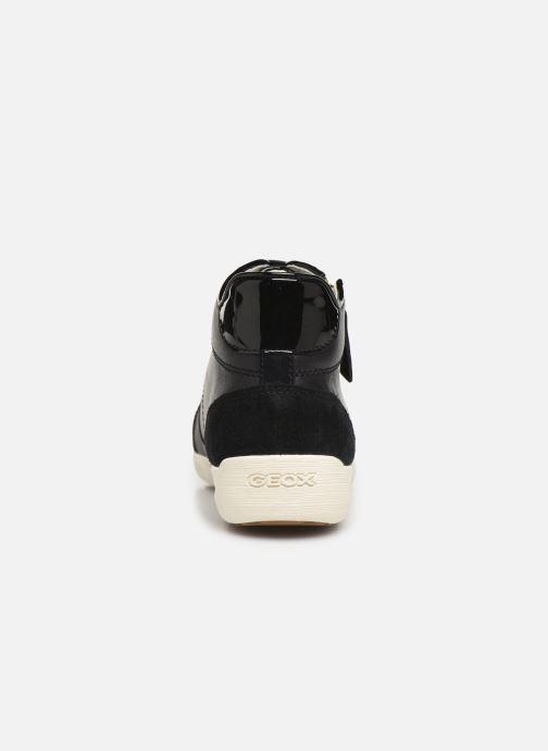 Sneakers Geox D MYRIA 3 Zwart rechts
