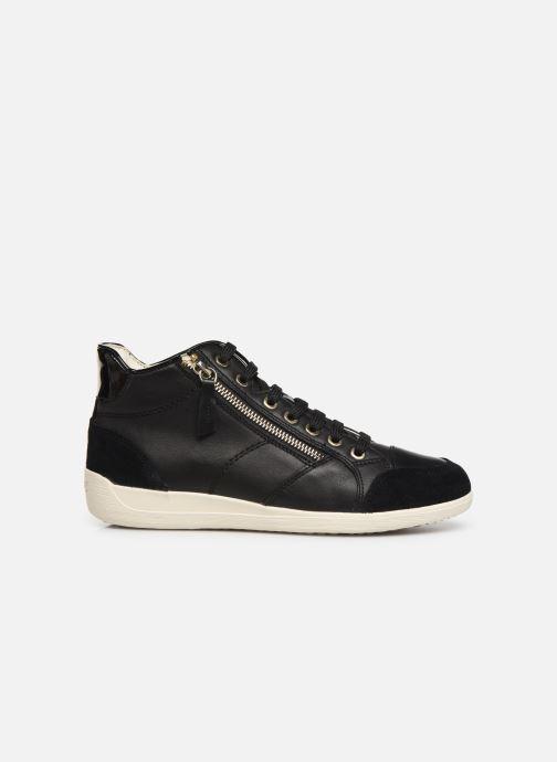 Sneakers Geox D MYRIA 3 Zwart achterkant
